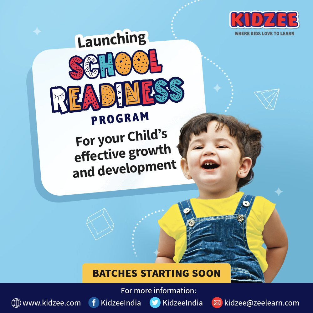 We, at #Kidzee, truly care about your child's #growth, #development & #learning capabilities. And so, we're here with our #SchoolReadinessProgram, a golden opportunity to make your child #confident, #brighter & #schoolready!  For more details please call: 022 40343956 https://t.co/84XZZeB3NP