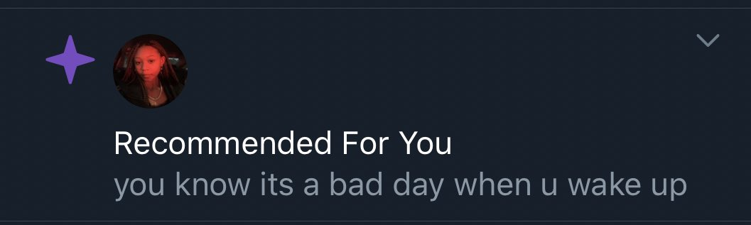 What is twitter trying to tell me 😔🤧 https://t.co/0eJsSD9tKy