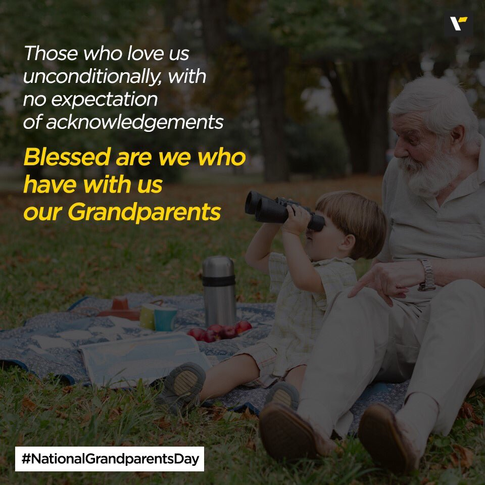 So today's the day to celebrate the most adorable and cutest people in our life – Our Grandparents! Here's wishing all the Grand-Angels out there a Very Happy National Grandparents' Day! #GrandparentsDay https://t.co/A7hSCfdNJJ