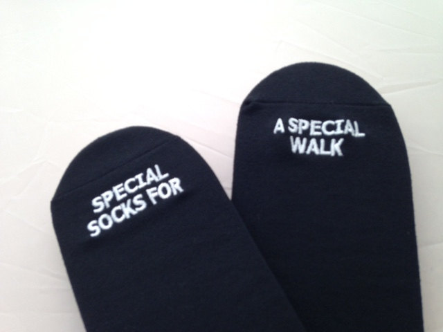 GroomSocks -Father of the Bride Wedding Socks 'Special Socks For A Special Walk' Sentimental Wedding Gift for Dad, Walking Down the Aisle https://t.co/h673AI26nu #Etsy #GroomSocks #FatherOfTheBride https://t.co/vIAi40kSqC
