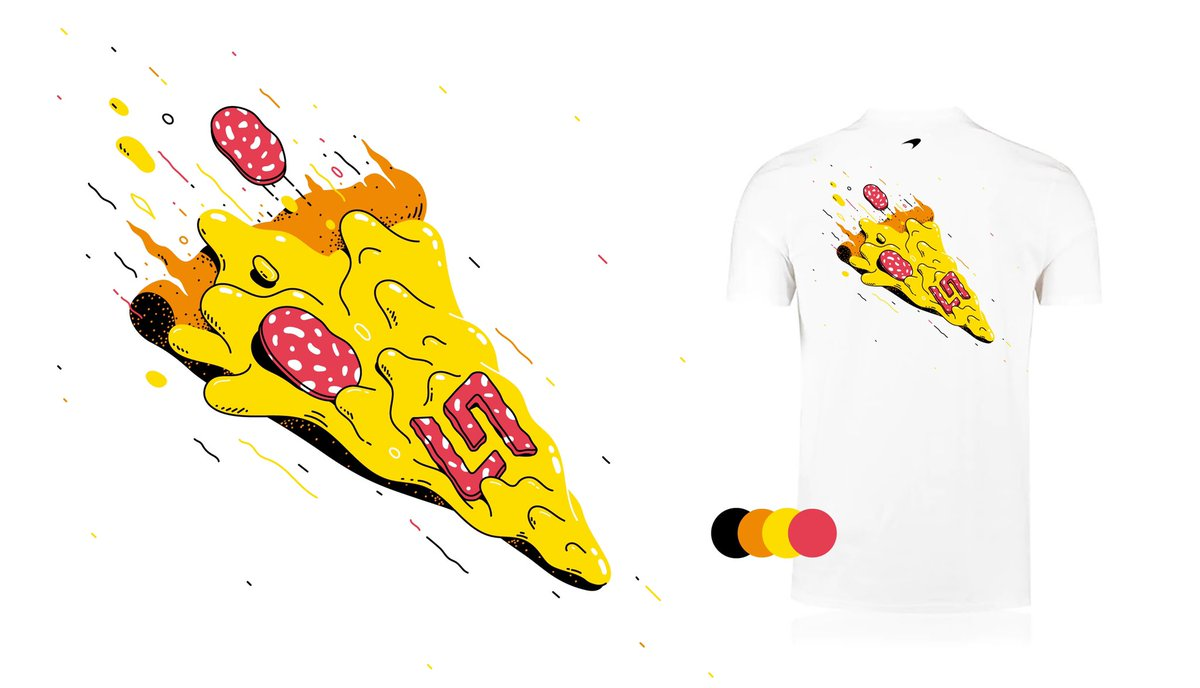 I made some tee's with pizza on 🍕  Go get one on https://t.co/WzIsJAz7Ol https://t.co/IrTxtpsGMF