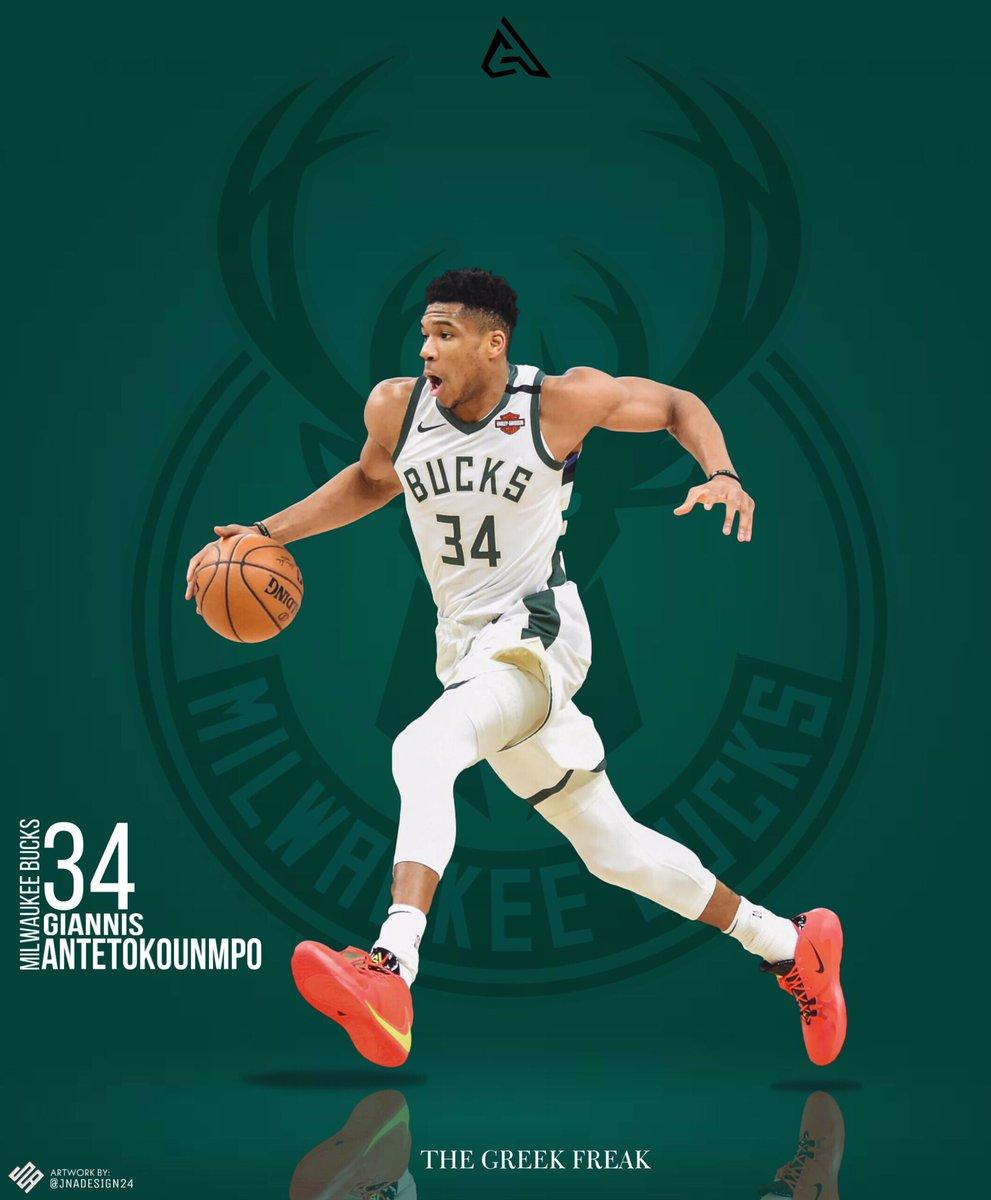 Artwork for Giannis Antetokounmpo of the Milwaukee Bucks.  OPEN FOR COMMISSION!   #nba #smsports #sports #sportsgraphicdesign #sportsdesigns #posterdesign #posterizes #graphics #art #bradleyjackdesign #bradleyjackcritique #basketball #nbamemes #nbayoungboy #nbayoungboyedits https://t.co/tQkNcXF4jr