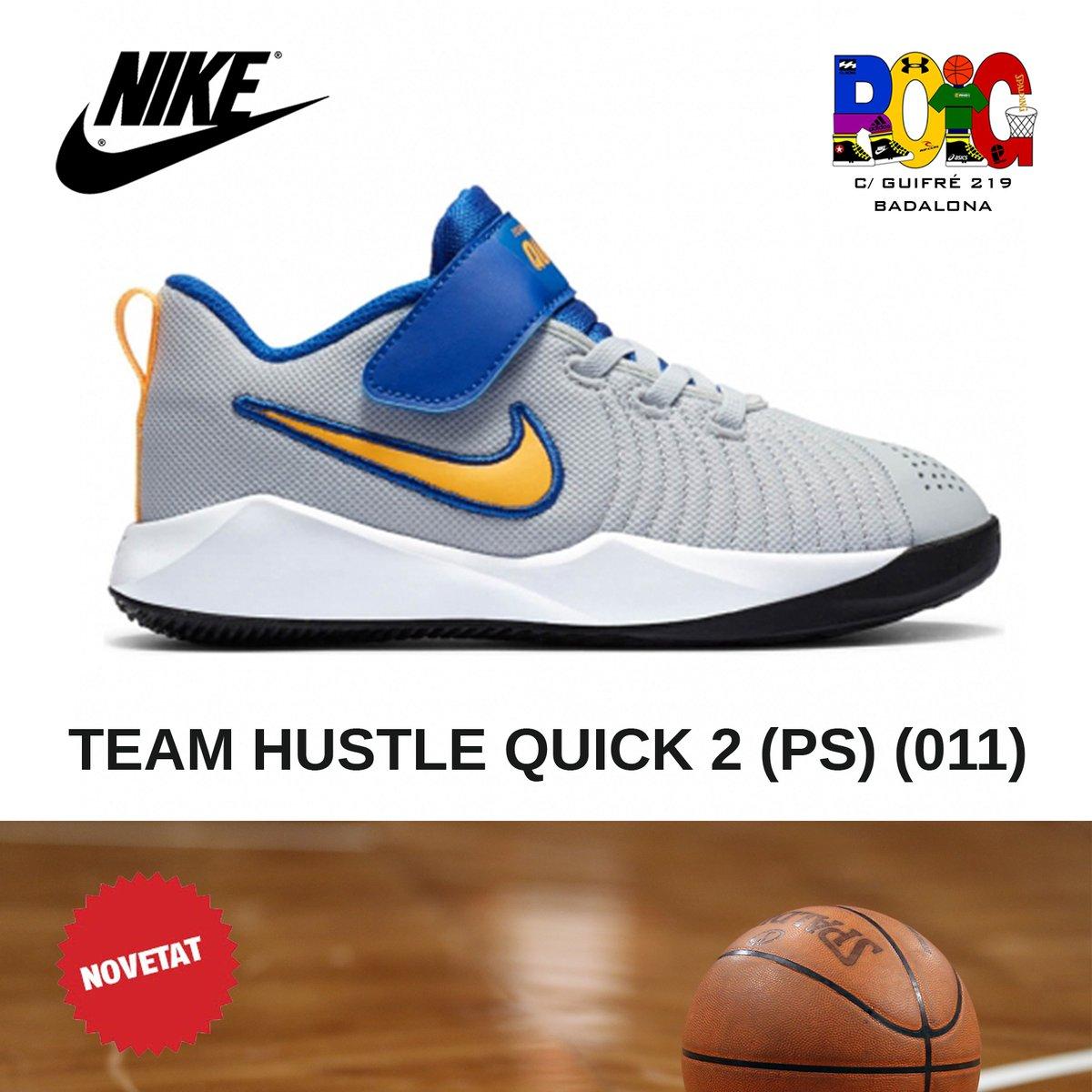 📢 NOVETATS en vambes 👟 de bàsquet 🏀️ junior: les Nike TEAM HUSTLE QUICK 2 (PS) (011) Disponibles a la botiga o a la web 💻 en https://t.co/mBc11xqsCd #nike #bàsquet #jordiroig #badalona https://t.co/bvYjOUM4s9