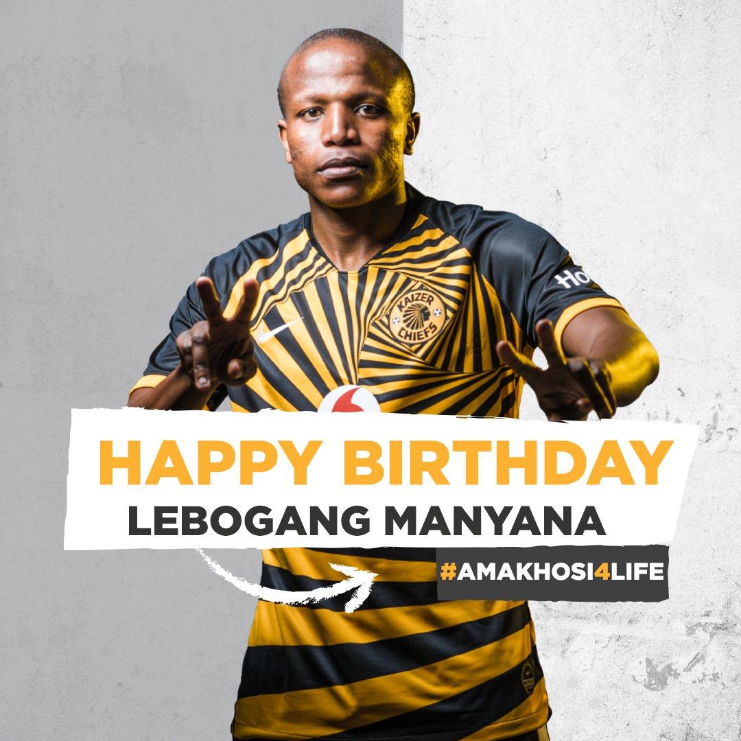 Happy Birthday Lebza. We wish you many more #ManyamasBirthday #Amakhosi4Life https://t.co/mQ6wluYPkh