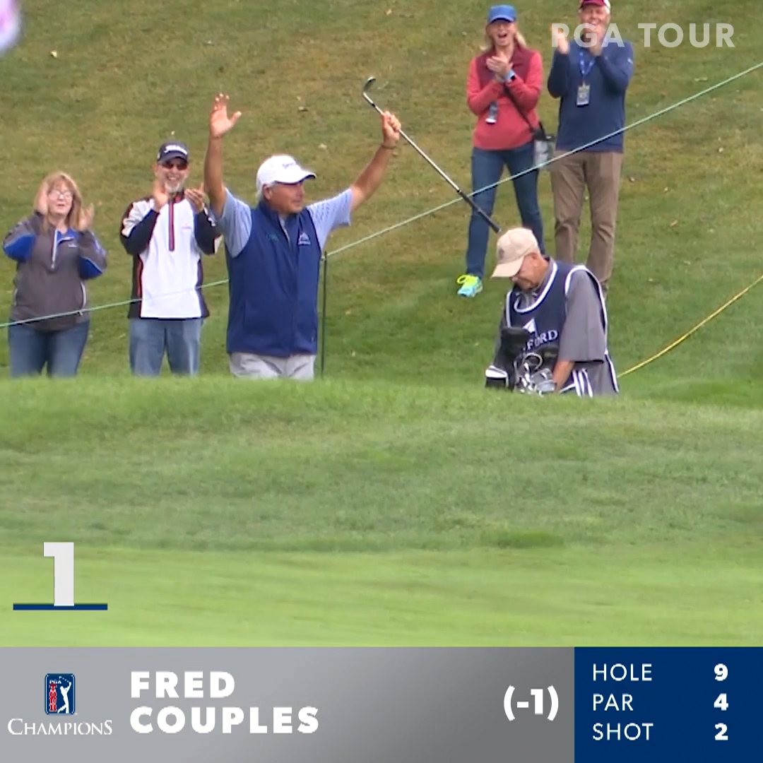 Replying to @ChampionsTour: The ultimate entertainer ... @FredCouplesGolf!