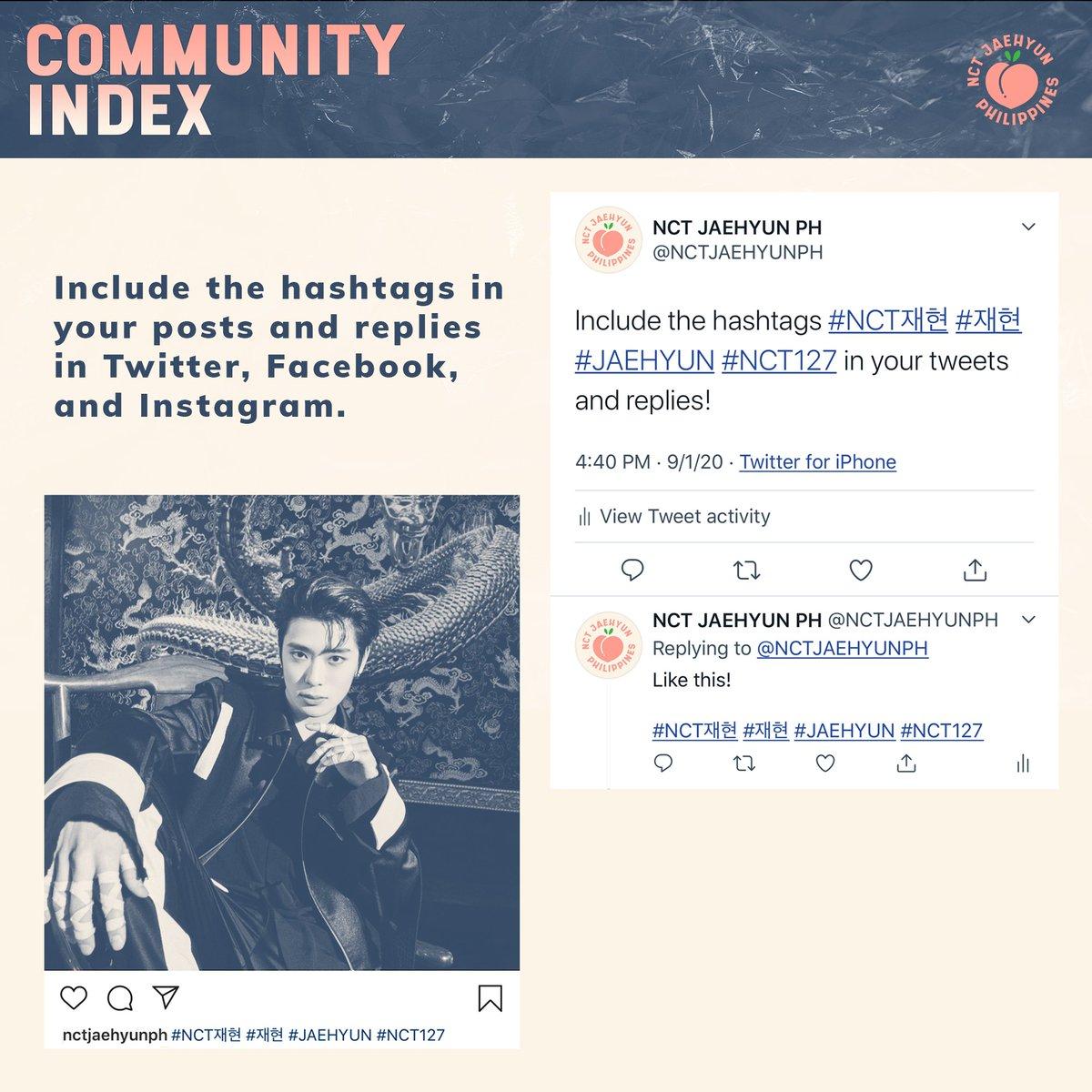 IV. INDEKS KOMUNITAS  Indeks ini mencakup engagement di beberapa SNS platform seperti Twitter, Facebook dan Instagram.  #JaehyunTime #JAEHYUN #NCTJAEHYUN #재현 #NCT재현 @NCTsmtown_127 https://t.co/wjZ87w8KRk