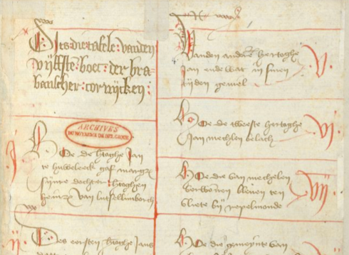 Another exciting new addition: the second, unillustrated volume of the set 'Brabantsche yeesten' MSS Brussels KBR IV 684-685 with Book V and its particular ending. https://t.co/wvGGemNjPj https://t.co/8NKbNsyc3b