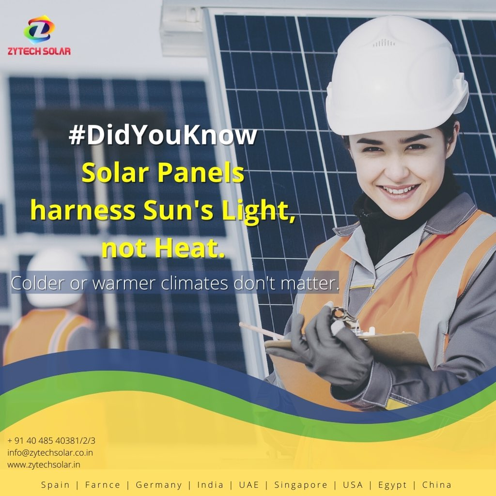 #zytechsolar #didyouknow #didyouknowfacts #solarnews #solarpower #industrial #Hyderabad #powerproject #pharmaceutical #construction #Telangana #southindia #architect #realestate https://t.co/oCfyIM2YDS
