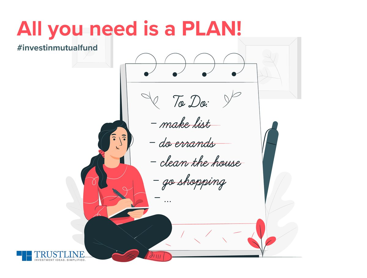 With systematic planning and investment, ensure all your dreams come to life, whether it is a significant purchase, retirement, or simply just building wealth. #investinmutualfund  https://t.co/14tekd3bbr https://t.co/bidHlpc5Gh