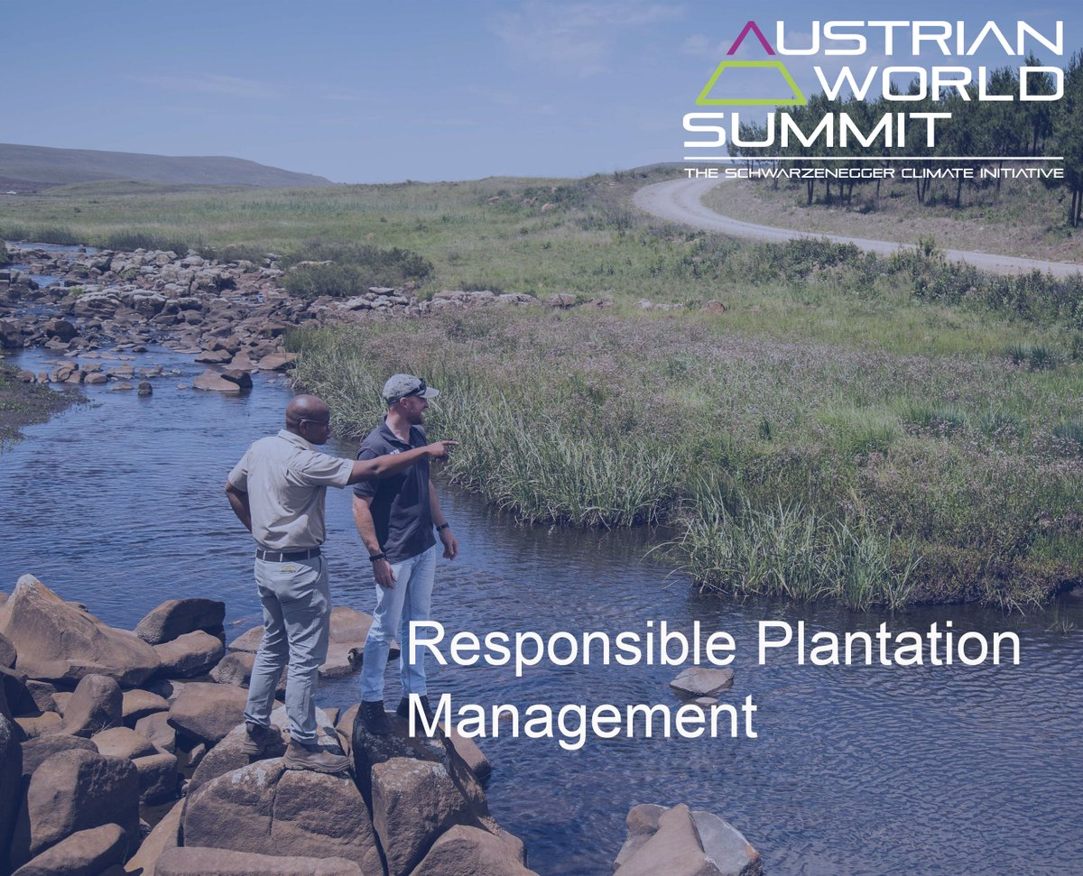 Check out the live stream of @ClimateAWS on 17 Sep on ORF III or on their Facebook Page 👉https://t.co/O28QGsmIMI.... We're proud to be sharing our landscape approach to responsibly managing #water resources in South Africa.  Read our case study here👉https://t.co/O28QGsmIMI...