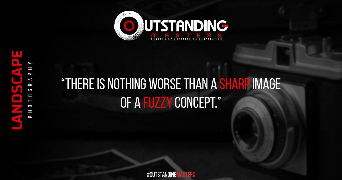 "صباحكم طيب 📸😍  حكمة اليوم:  ""لا يوجد ما هو أسوأ من صورة واضحة/حادة لمفهوم مشوش""  ""There is Nothing Worse Than A Sharp Image Of A Fuzzy Concept"" ______________  OutstandingMasters 🎓 OutstandingThursdayLive 📺 دمتم_مبدعين 👍🏻 دمتم_متميزين 👌🏻 دمتم_Outstanding 🏆 https://t.co/3ttQnbcJBS"