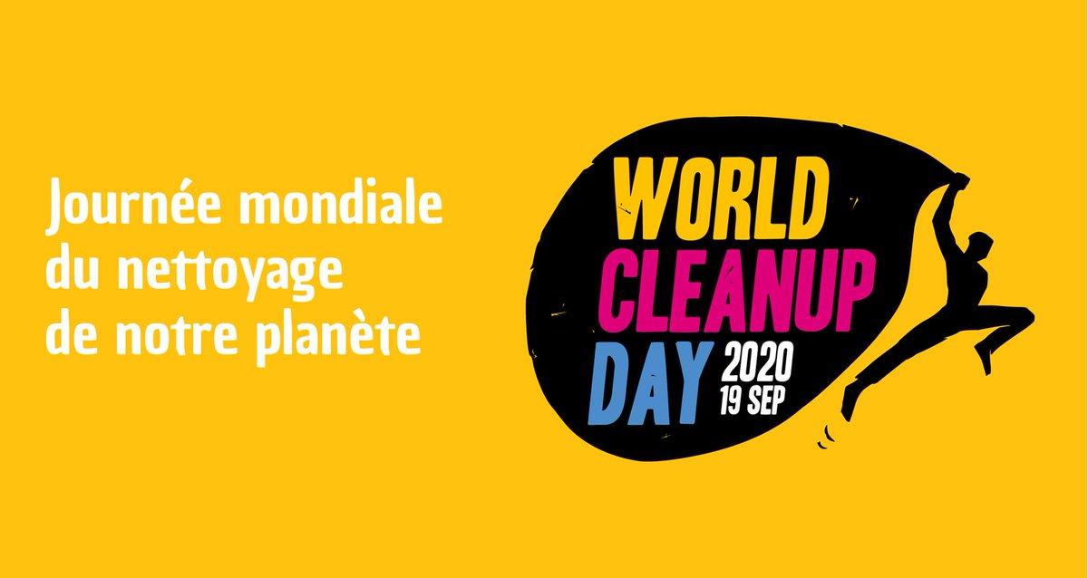 A l'occasion de la #WorldCleanupDay2020, la Jeune Chambre Economique du #Saumurois vous invite à une action de nettoyage citoyenne et participative le samedi 19 septembre de 9h30 à 12h30. ♻️  RDV 6, avenue du Général de Gaulle pour le départ ! 💪 https://t.co/OljkMb581g