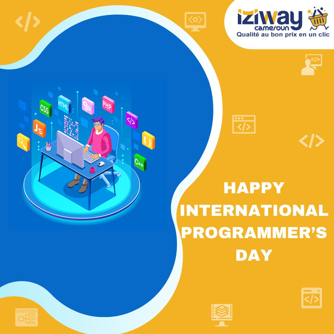 🎉 HAPPY INTERNATIONAL PROGRAMMERS DAY  👨🏾💻 Programmer Day is a day to celebrate Programmers and to thank them for all that they do 🙏🏾  You can treat yourself to high-performance computers following this link 👉🏽 https://t.co/tQH1qAPmZb  #iziway #integnationalprogrammerday https://t.co/qaOxy1z8gb