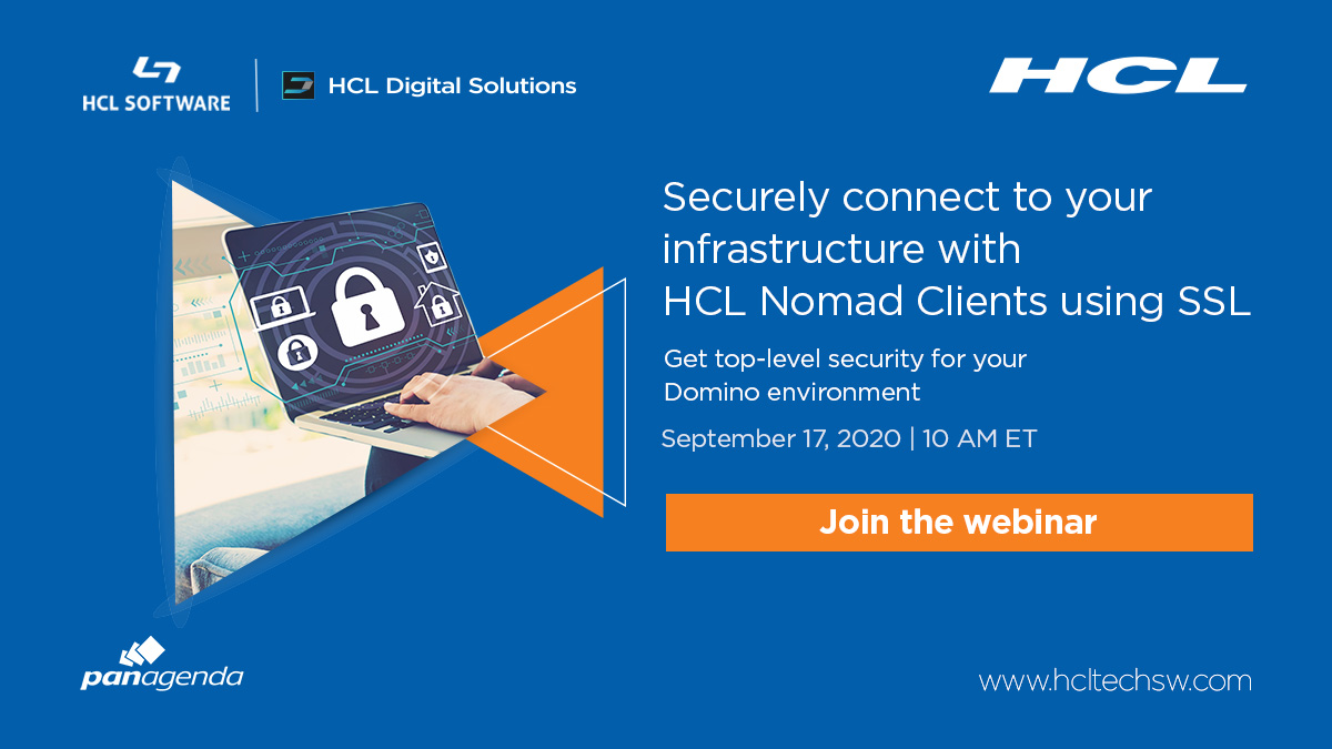 Want to make sure you have a secure #Domino environment? #HCLSafeLinx can help. Register today! https://t.co/2tyuqJZzoX #dominoforever