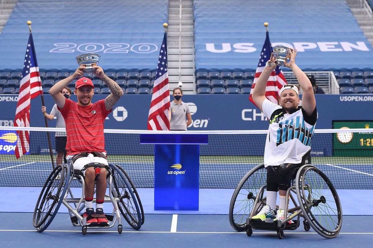 🏆2017  🏆2018 🏆2019 🏆2020  @usopen quad doubles champion thank you new York as always ❤️ https://t.co/Oj76XEwcZV