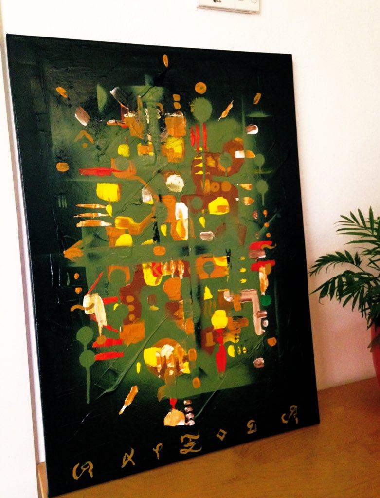 """Neljuayolt Pojtli""   ""Raíz de Humo"" (Nahuatl)  50x70cm  Técnica Mixta sobre Lienzo   Sevilla 2020  Disponible / Available   Info DM  #artemoderna #prehispanic #artcontemporain #andalucia #pintura #abstract #fineart #moderndesign #gallery #kunst #moderndesign #raptoer #mexico https://t.co/hqD5H3QnOT"