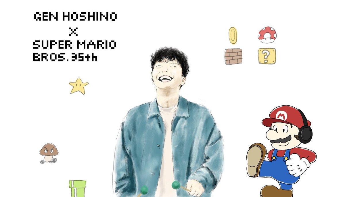 イラスト マリオ キャラクター