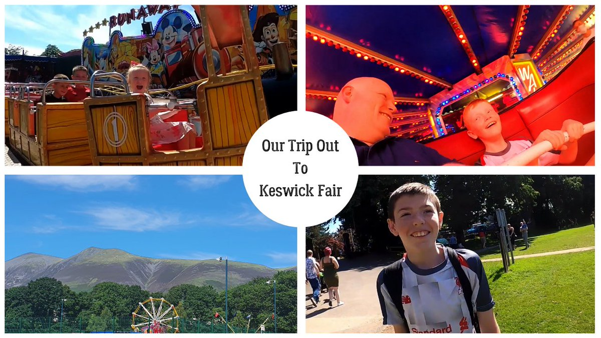 ❗️New vlog❗️ Our day out at Keswick Fair Pop over and give it a watch and a 👍 and if you are not already please subscribe we would really appreciate it 🙂 #Keswick #LakeDistrict #FamilyDays #DaysOut   https://t.co/yGsmwBcRIE https://t.co/MqlXRPgthd