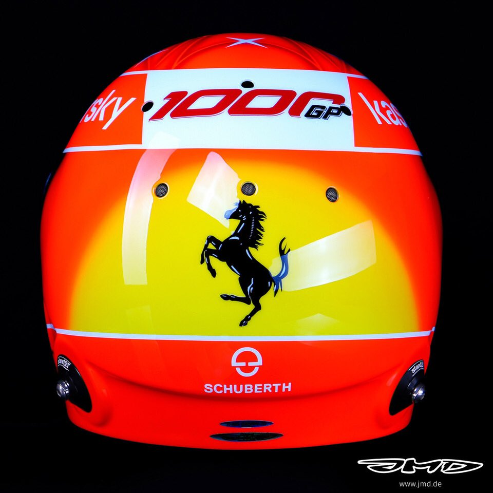 Jens Munser Designs On Twitter Mick Schumacher Driving His Father S Ferrari F2004 Today At Mugello Wearing Michael S Helmet Design Sf1000gp Keepfightingmichael Https T Co Iqfwkh7is1