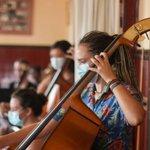 Image for the Tweet beginning: Arratsalde berotsua atzokoa orkestra osoa