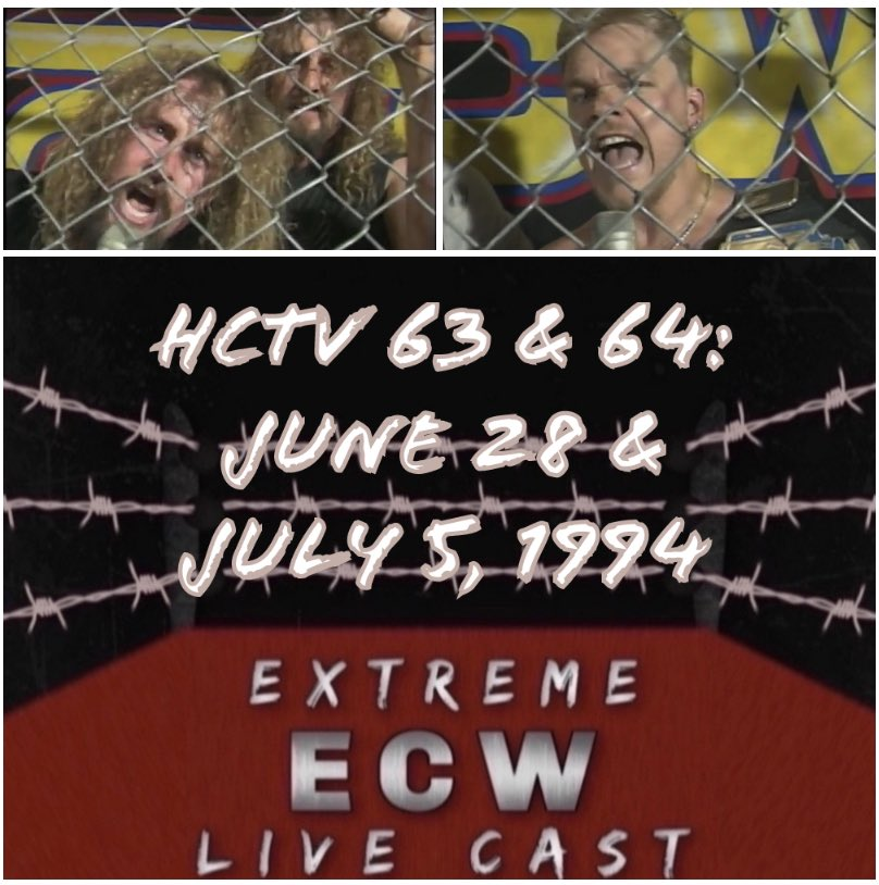 Now available! It's an exclusive of our latest episode of the Extreme ECW Live Cast! Check it out and get more episodes at https://t.co/A2llY6MQUF on the $5 tier! #WrestlingCommunity #podcast #ecw #bttarmy   Apple: https://t.co/cSSFy2wc7r https://t.co/b7rboJi61n
