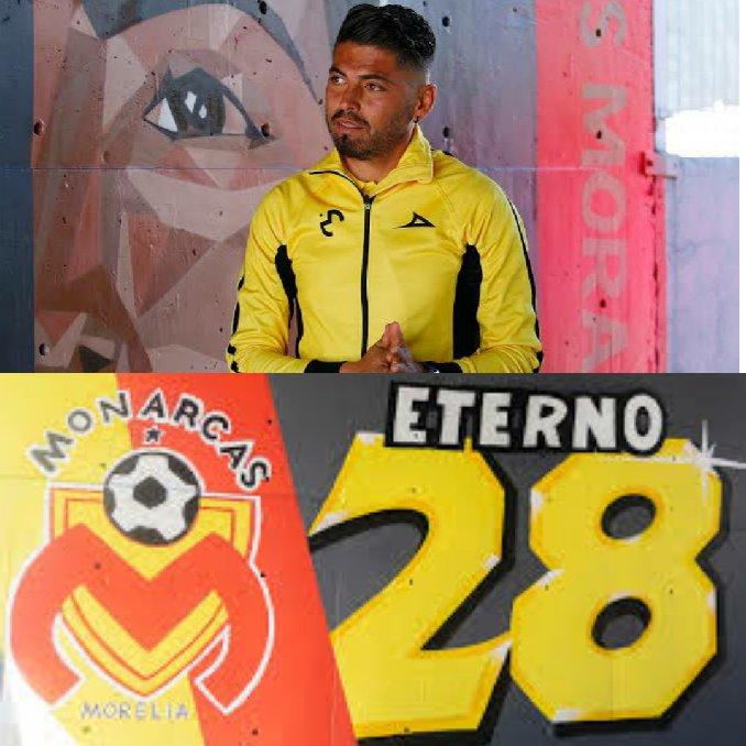 DEBUT ETERNO 2️⃣8️⃣  Un 13 de Septiembre de 1998 debutaba @CarMorales28, el histórico de #MonarcasMorelia disputaría 3️⃣2️⃣2️⃣ partidos oficiales y logró ser el 3️⃣er jugador con más partidos en la escuadra purépecha 🏆🔝  CAMPEÓN de liga con Morelia, #CopaMX y #SuperCopa 🏆🎉 https://t.co/DtHr2qOLQa