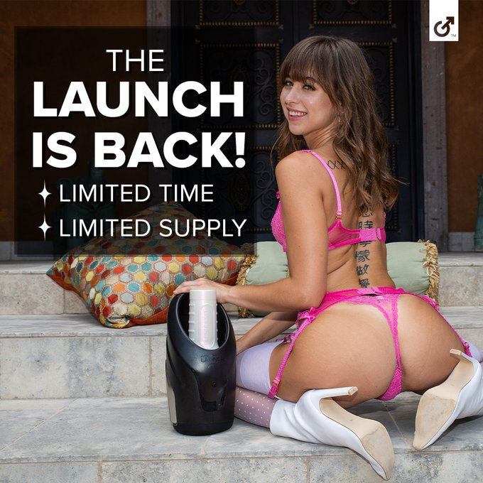 The first automated Fleshlight experience is back, but for a limited time! We only have a limited stock