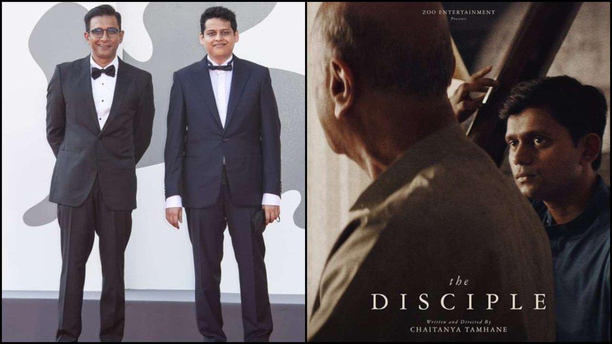 #ChaitanyaTamhane's Marathi film #TheDisciple bags the Best Screenplay award at the Venice Film Festival. https://t.co/0kjG4k58dv