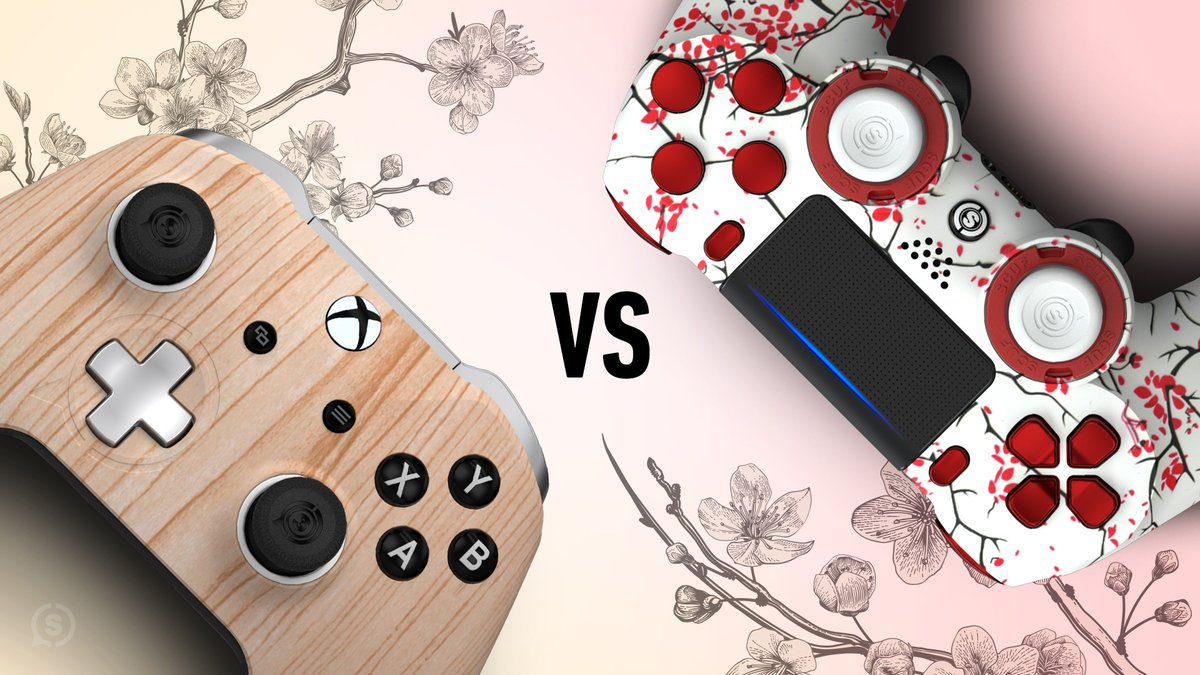 Light Wood 🆚 Cherry Blossom - Which ones got your pick? scuf.co/Shop #SCUFVS