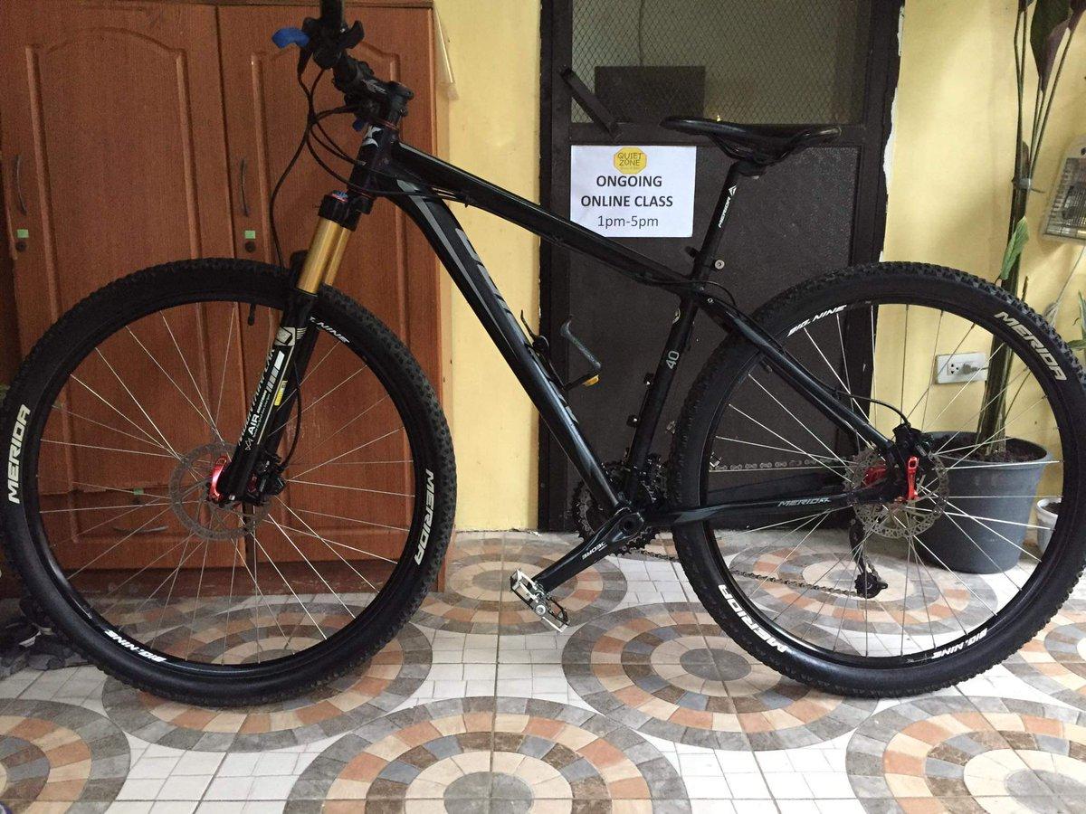 For sale : #bike #merida #pmtbiker #29er #mountainbike  https://t.co/TubtWk5aAs https://t.co/a0zpYgwqEE
