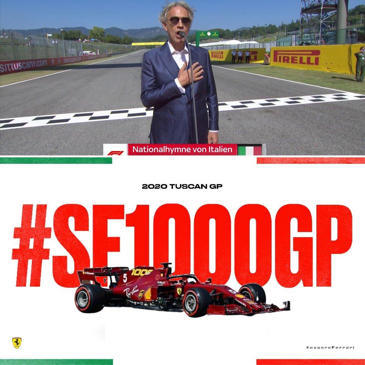 Italian Tuscan Mugello GP 2020 Pictures Part 21 #Tifosi #TuscanGP #AndreaBocelli #essereFerrari #Ferrari #SF1000 #Charles16 #Seb5 #CL16  #Tifosiclub #F1 #liveyourferraripassion #Vettel #Maranello #forzaferrari  #Skysports https://t.co/xC68ioEZvU