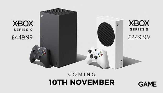It's been a long time coming, but we've got prices and a release date for the next generation Xbox consoles!  Need the best? £450 gets you the Series X with its stunning 4k/60fps gameplay experience.  On a budget? £250 gets you the Series S, perfect for the more casual gamers! https://t.co/UCYE8nDsLn