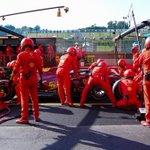 #Seb5 pitting for hard tyres. Back in P11. #TuscanGP