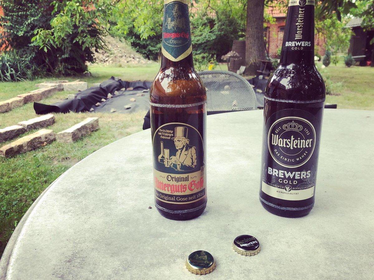 #RittergutsGose aus #Borna wird mit hauseigenen #Milchsäurekulturen sowie #Gosehefe gebraut & hat eine harmonische #Säurenote 🍺#Milchsäurebakterien #deutschesBier #germanbeer #bierzeit #sundaybeer #beerfriends #bierfreunde #Warsteiner #bierliebe #OriginalRittergutsGose #bierchen https://t.co/d7J6fCzG5x