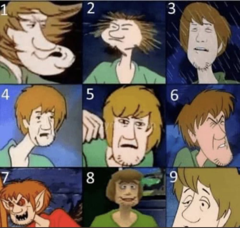 Who do you vibe with today? 3, 4 and 8 are a big-ass mood https://t.co/76orCaH7Xx