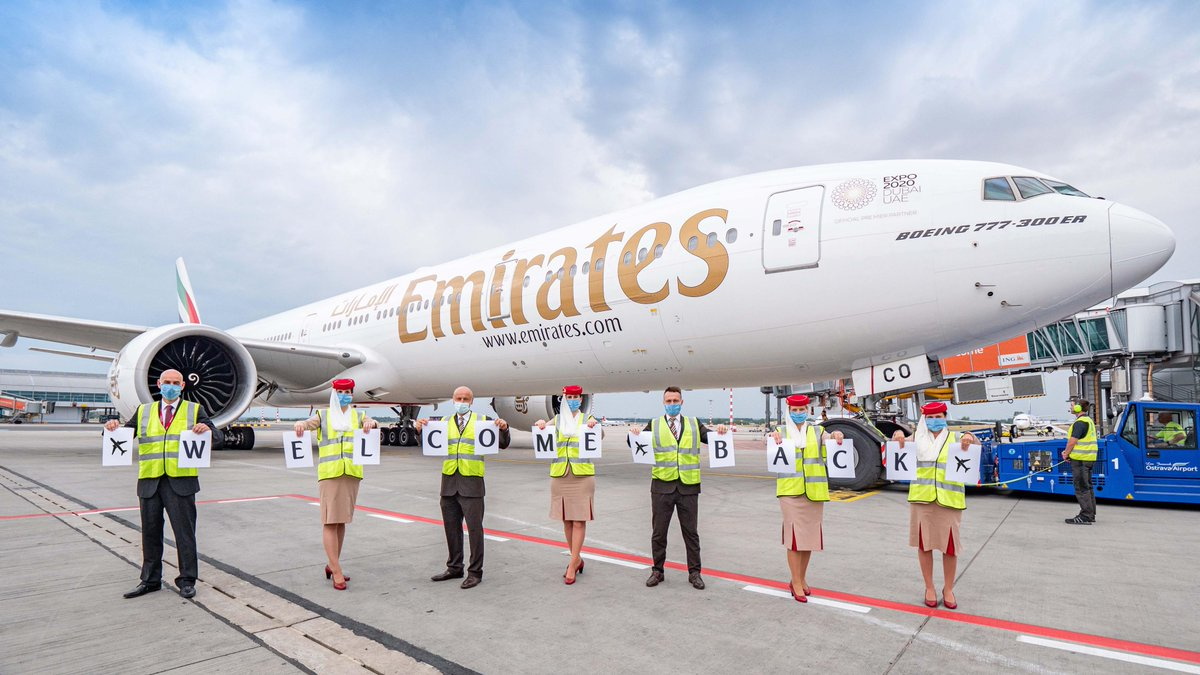 We restored connectivity to more than half of our pre-pandemic passenger destination network in August. This month, we are flying to over 85 cities around the world.  @DXB #FlyEmiratesFlyBetter #Above_The_Clouds  Images by: @flyrosta, Sonali Zalcman, Peter Bakke https://t.co/NWsi1jbDux