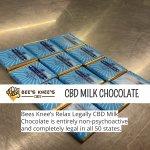 Bees Knee's Relax Legally #CBD Milk Chocolate is entirely non-psychoactive and completely legal in all 50 states. #cbdedibles #hempoilextract #cannabidiolinfused #cbd https://t.co/FmCdt67AXW