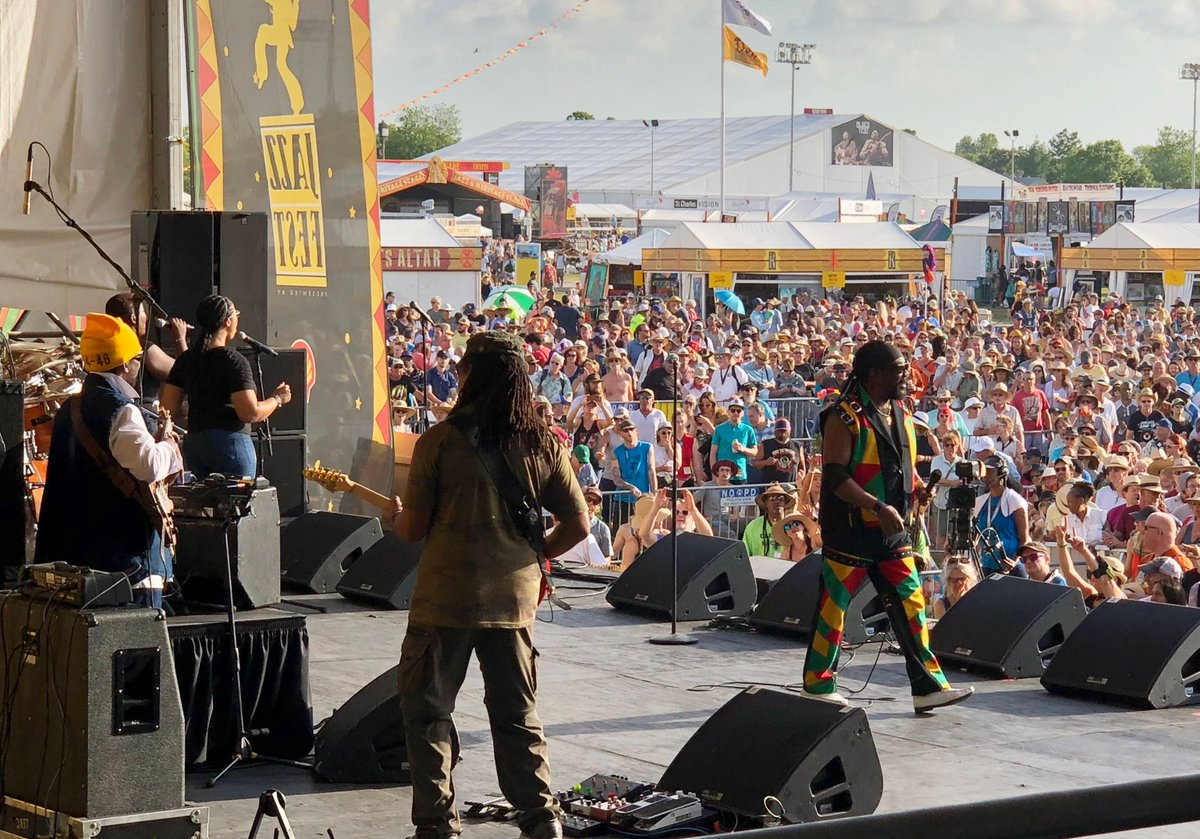 So sad to lose Reggae legend Toots Hibbert of @tootsmaytals. I had the opportunity to see him perform from backstage at NOLA @jazzfest in 2018. I could clearly see the love of the audience from my location. https://t.co/PyfFuNgoXv
