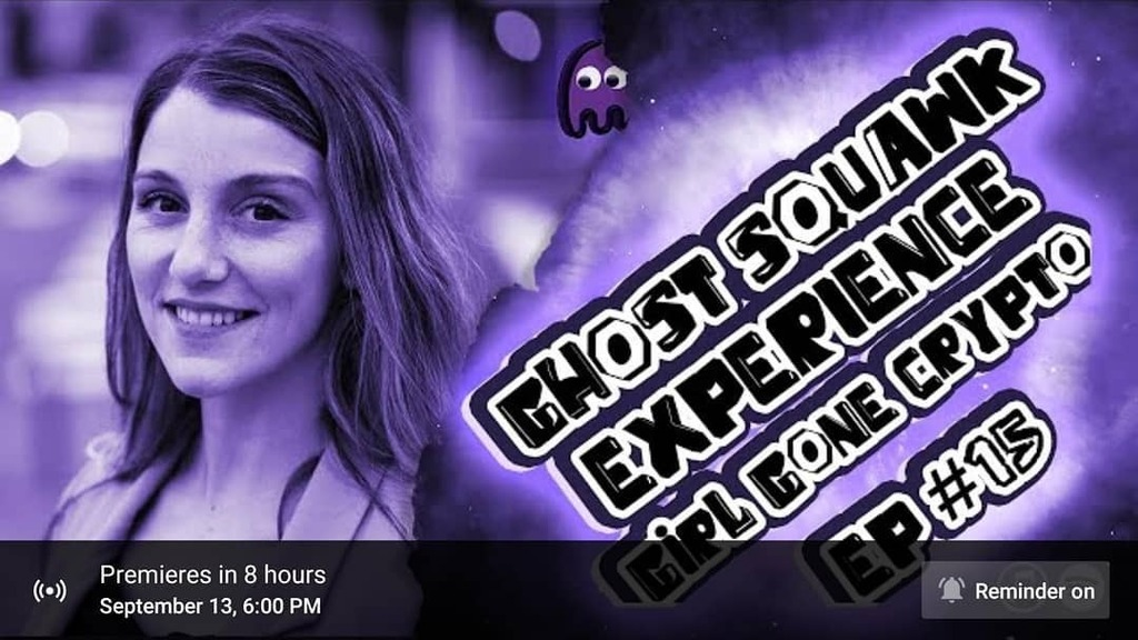 Join us for the Ghost Squawk Experience number 15, where we interview Lea Thompson, aka Girl Gone Crypto!  Lea is a blockchain media and content specialist that focuses on increasing crypto adoption. She is passionate about advancing the space by connect… https://t.co/1s7Ghwiyfv https://t.co/uGRyu6bfg5