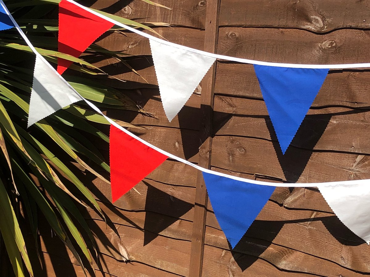 "Thanks for the kind words! ★★★★★ ""Ordered quite late for VE DAY celebration emailed and requested a quicker turnaround. Received the bunting in plenty of time 👍👍👍👍excellent service Especially during the current time. Highly recommended"" Dawn Calvert #etsy #VEDAY https://t.co/bHJkNVauwk"