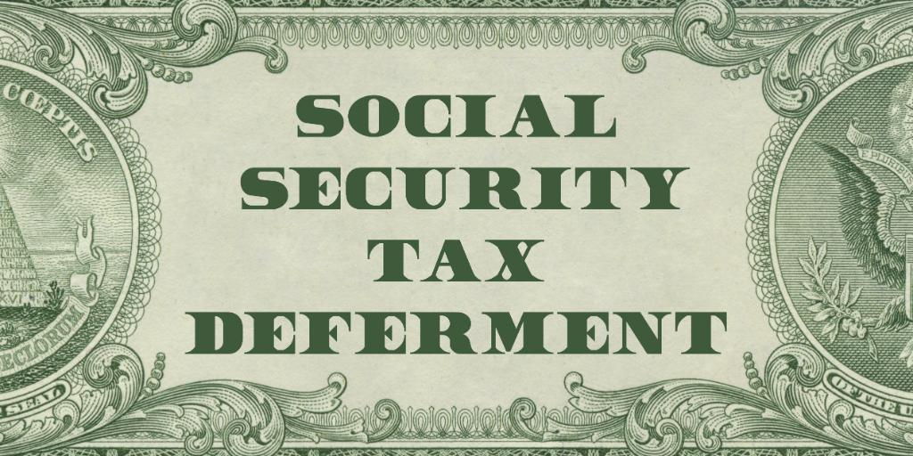 Deferment Details With payday approaching, know what the deferral of Social Security taxes to provide #COVID19 relief means for 💵 Marines: go.usa.gov/xGBRv 💵 Civilian Marines: go.usa.gov/xGBRf