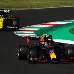 Five laps remaining! Bring it home @alex_albon 💪 #TuscanGP 🇮🇹 #F1