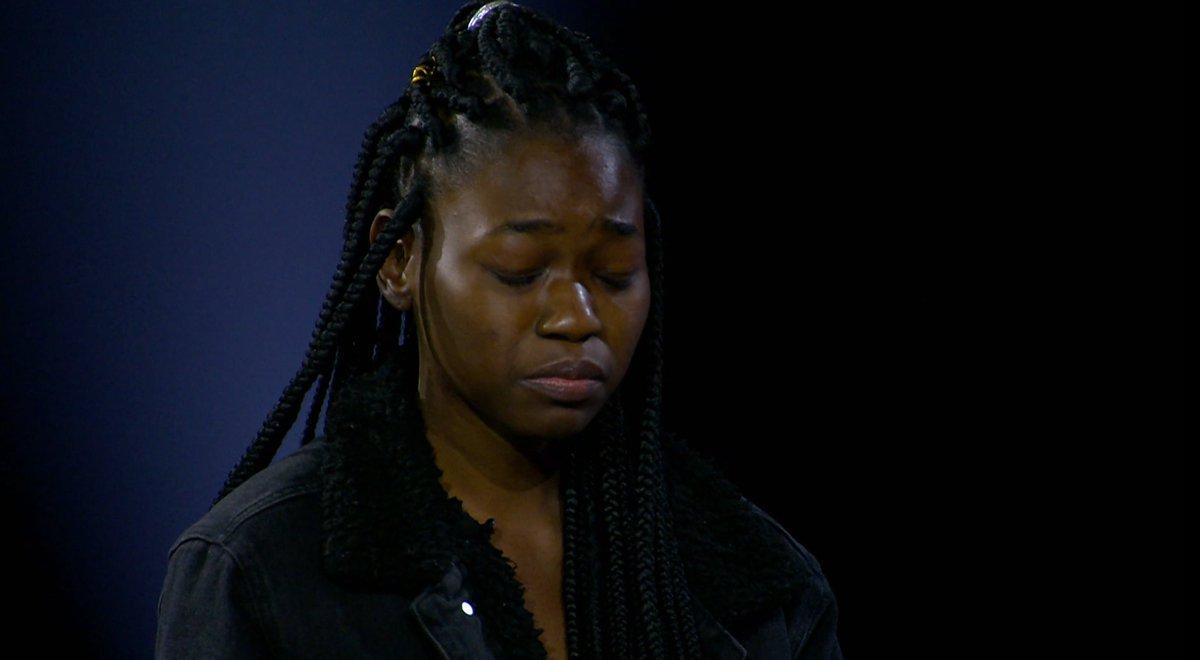 Oh no, Matevhu 😢 She's the first to fall in the final #IdolsSA judgement... Ahem, @DJZinhle... https://t.co/DupKaAKuki