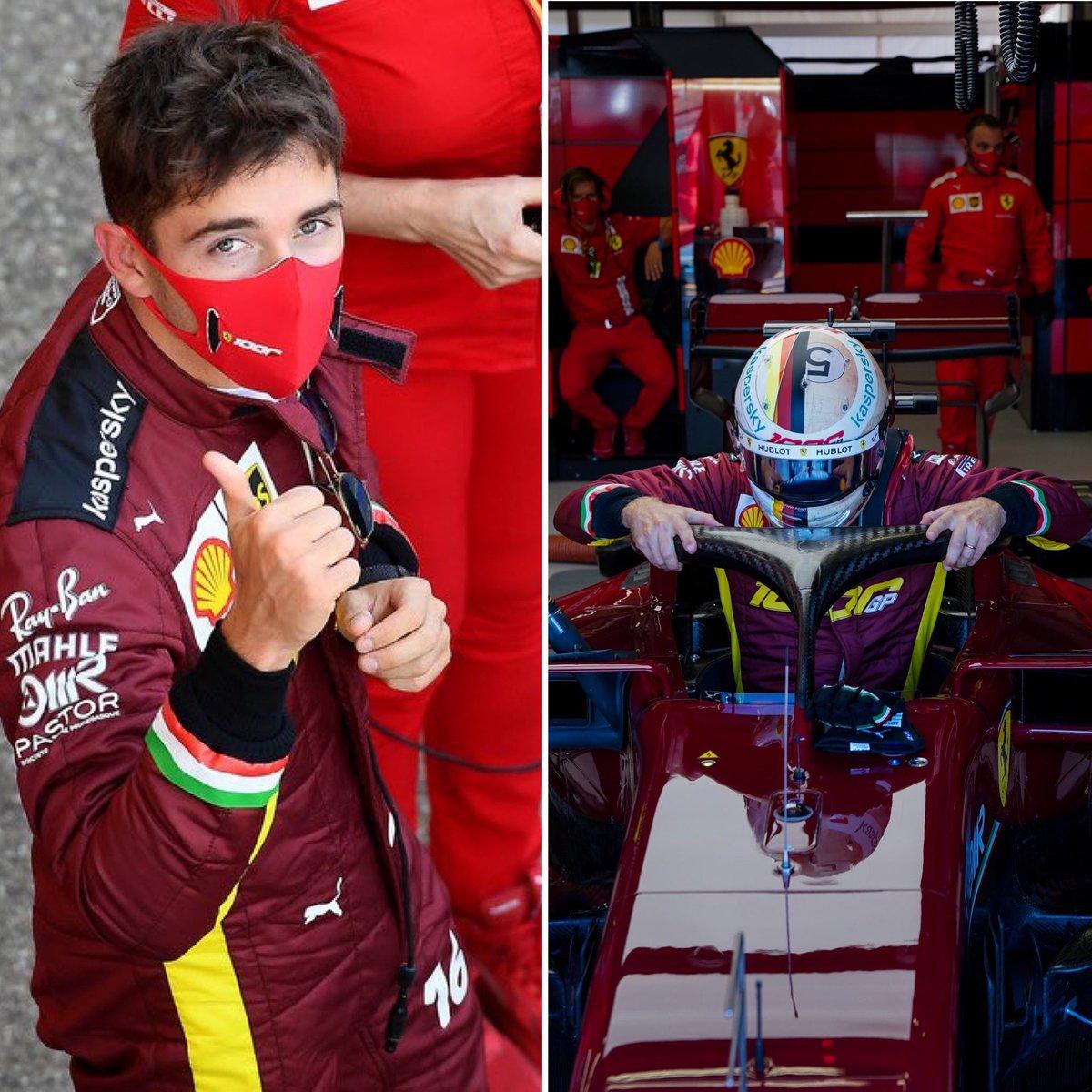 Leclerc 9th & Vettel 10th at the Tuscan GP 2020 #Tifosi #TuscanGP #essereFerrari #Ferrari #SF1000 #Charles16 #Seb5 #CL16  #Tifosiclub #F1 #liveyourferraripassion #Vettel #Maranello #forzaferrari  #Skysports https://t.co/Eue1WBirwv