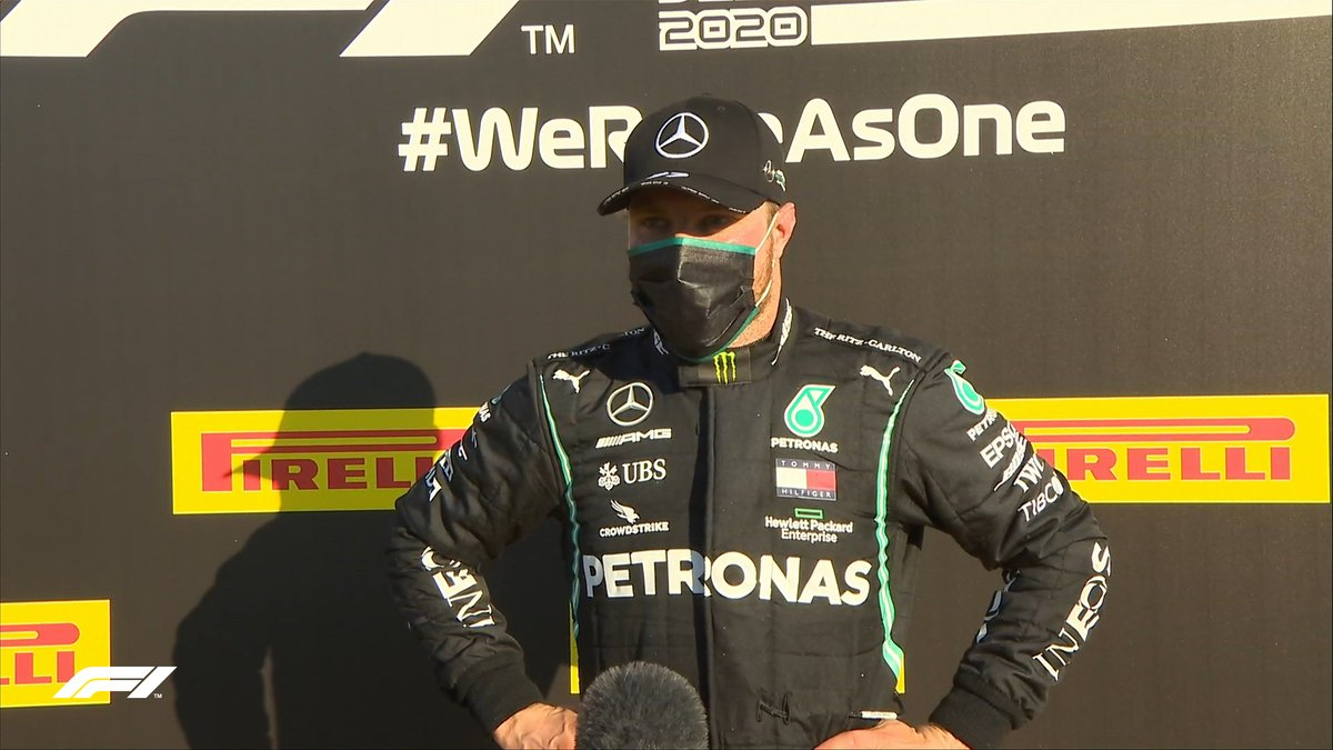 "BOTTAS: ""It's disappointing because I had a dream start to the race. Once I lost position at the second restart I didn't have any opportunities.  ""I'll keep pushing - it has to turn out well for me at some point""  #TuscanGP 🇮🇹 #F1 https://t.co/wNViUcFmVk"