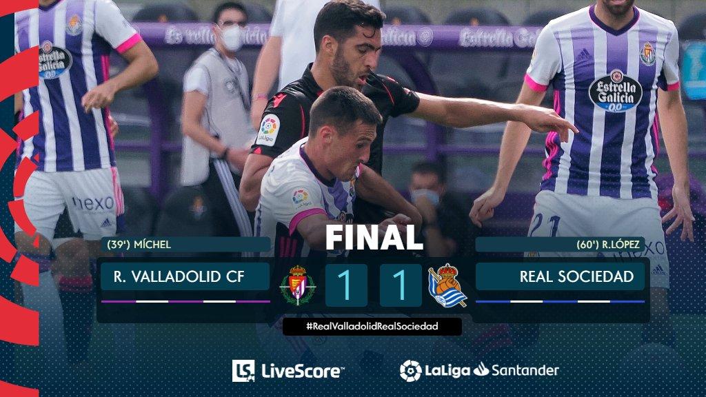 Real Valladolid-Real Sociedad