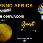 Image for the Tweet beginning: 📢Uptrennd Africa to host @Oduwacoin