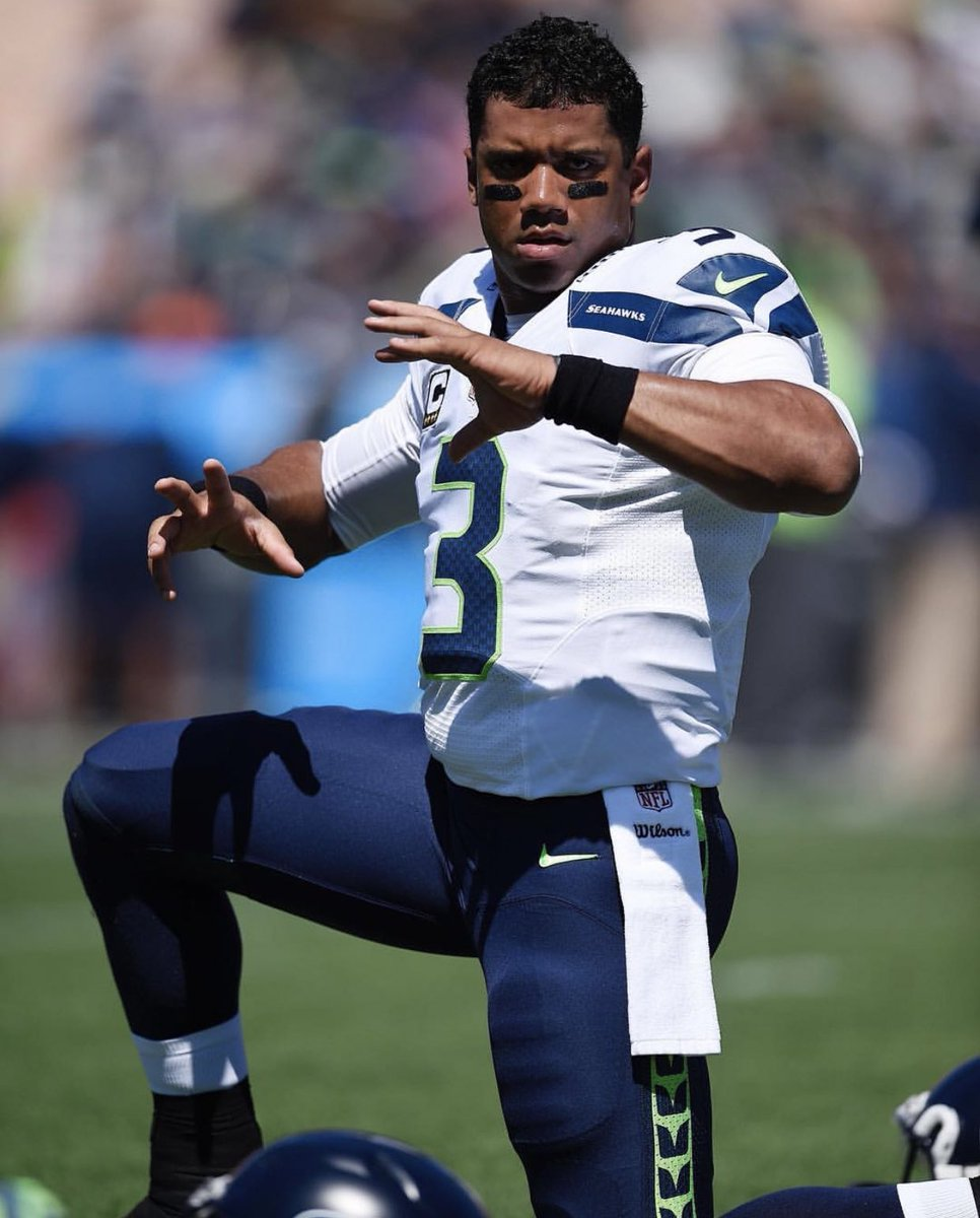 Season 9. So proud of you babe @DangeRussWilson! Hardest working man I know. Seeing your daily dedication and commitment to the game  continually motivates and inspires me!  Best 2 Ever do it! #3 The Best is Ahead! Let's Go @Seahawks! Let's Go!  #GameDay 💙💙💙💚💚💚 https://t.co/bdDCsvwQbj