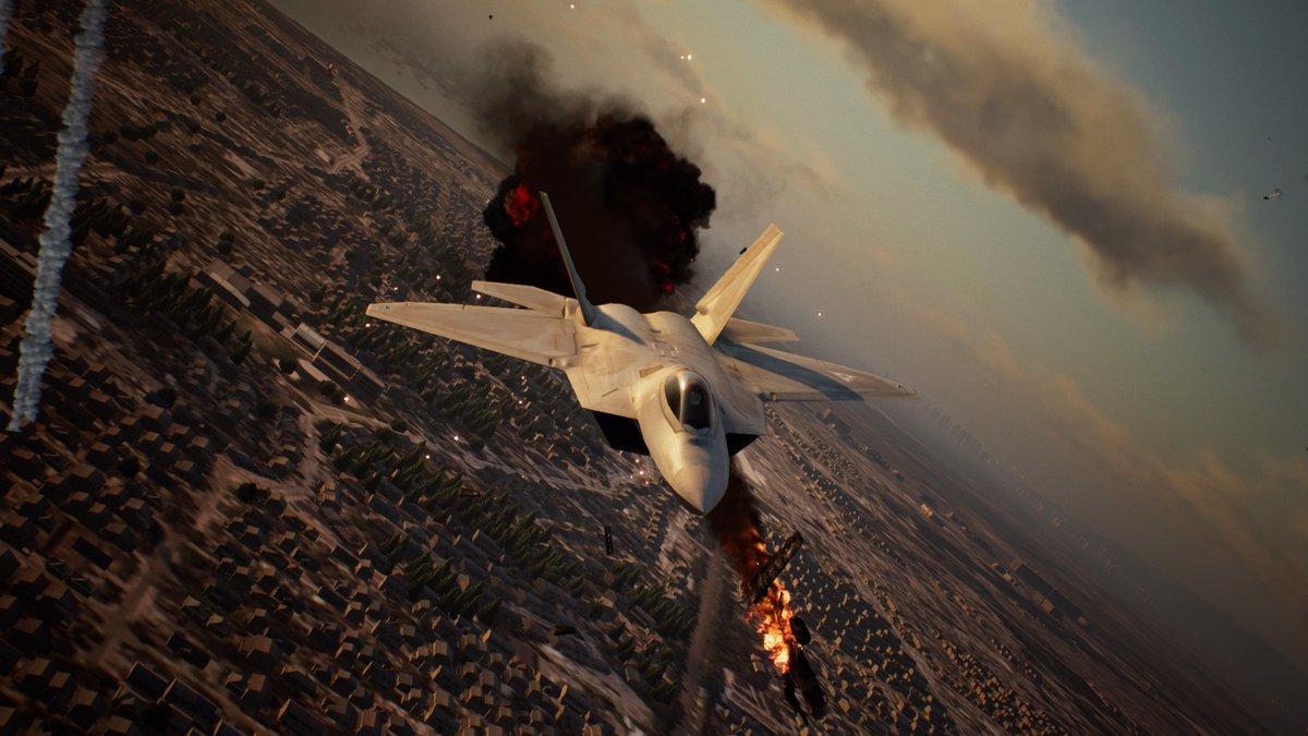 1日遅れだけど、AceCombat 04 発売19周年にあやかって、F-22/メビウス1でファーバンティー攻略。#ACE7 #エースコンバット7 #エースコンバット04
