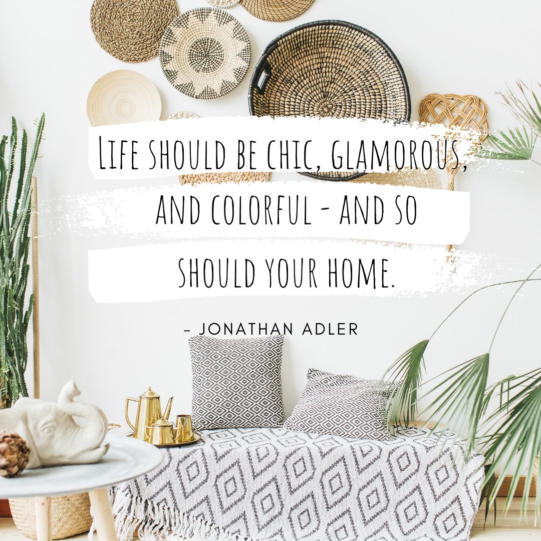 May your home be as colorful as the rainbow. 🌈   #mondaymotivation #startyourweekright #colorfulhome #glamorouslife #chicstyle https://t.co/4ihhUNtKFP